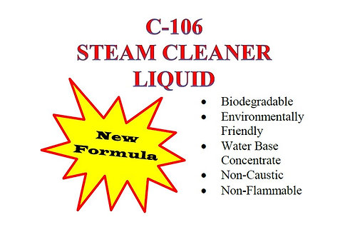 C-106 Steam Cleaner Liquid