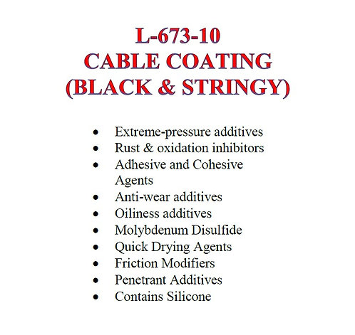 L-673-10 Cable Coating
