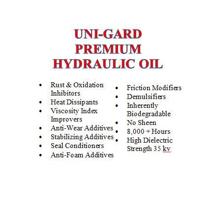 Uni-Gard Premium Hydraulic Oil