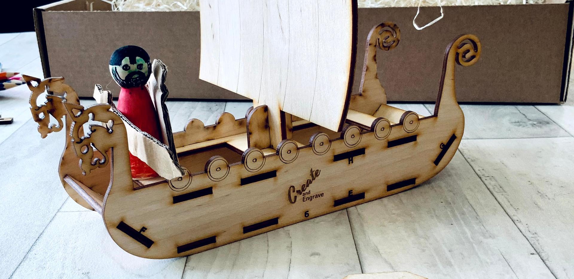 The viking box