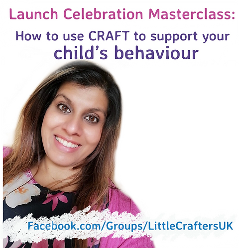 How you can use Craft to support your child's behaviour