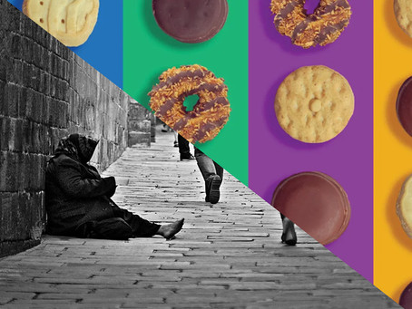 Girl Scout Cookies and the Homeless