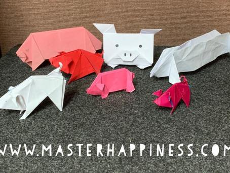 Origami Speech Practice
