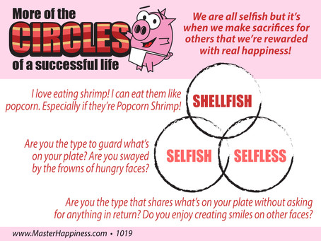 Selfish, Selfless, and Shellfish