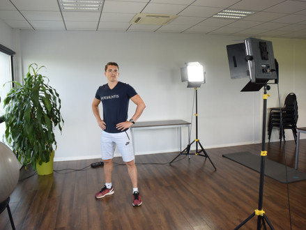 Bienvenue à Matthieu Verneret, coach sportif