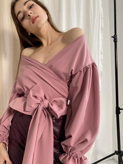 Блузка назапах