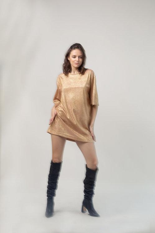 Платье-футболка «New Year 2020»