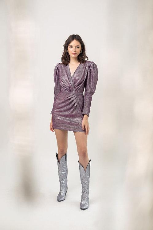 """Платье с объемными плечами """"New Year 2020"""""""