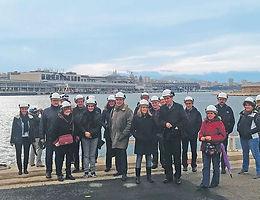 Visite de la centrale de géothermie marine Thassalia