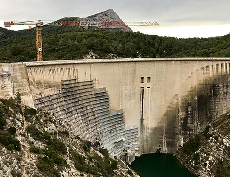 Visite du siège de la Société Canal de Provence et du barrage de Bimont