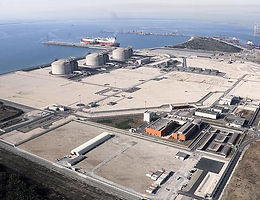 Visite du site du terminal méthanier de Fos-Cavaou Et du premier démonstrateur industriel français « Power to gas »