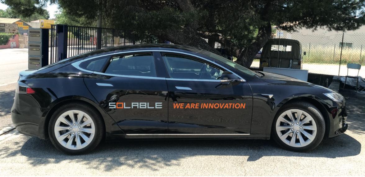 Marquage Tesla