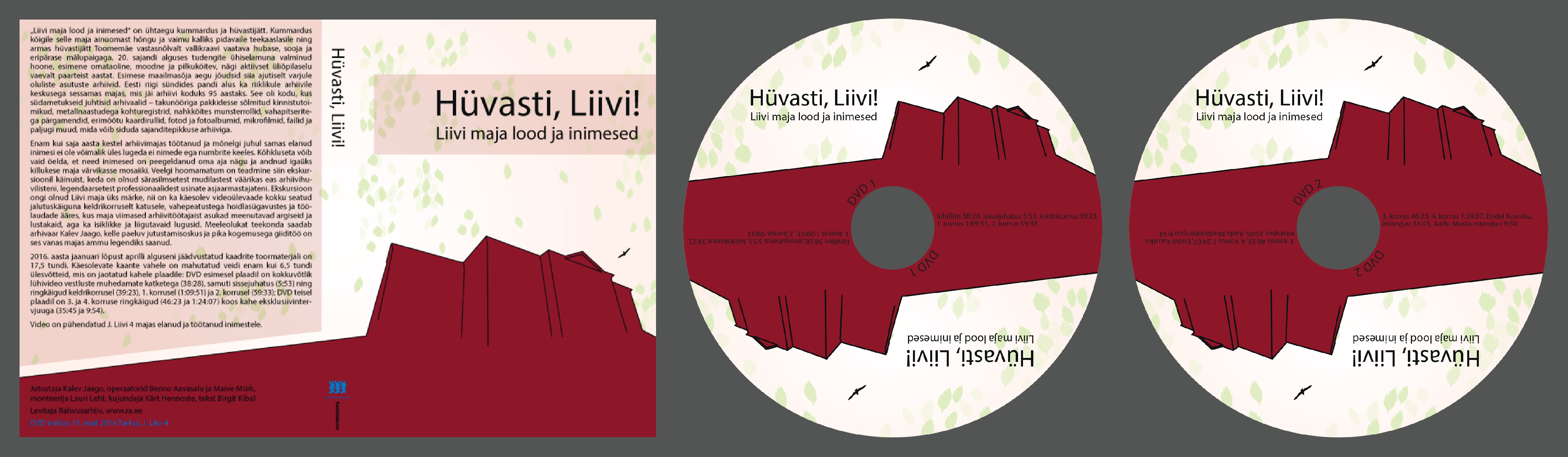 DVD kujundus
