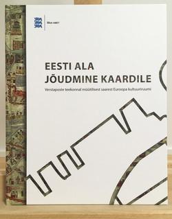 """Raamat """"Eesti ala jõudmine kaardile"""""""