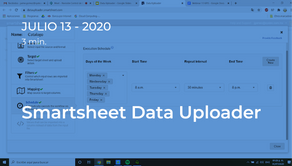 Smartsheet Data Uploader