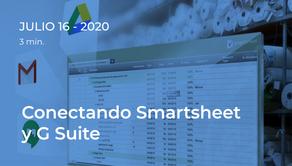 Conectando Smartsheet y G Suite