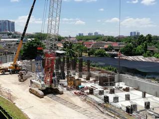 Progress Photo as at February 2018