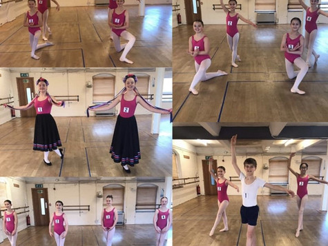 Ballet exams go ahead even after Lockdown