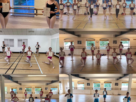 Our Ballet Exam Pupils Do Us Proud