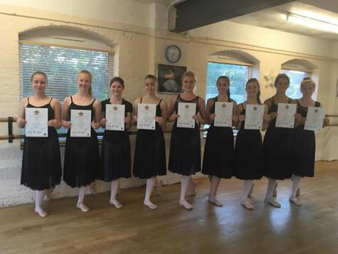 Ballet Exam Success