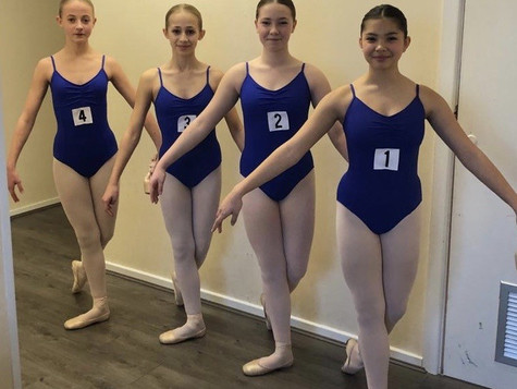 Ballet Pupils Excel in their Video Exams