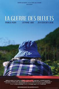 Affiche du film LA GUERRE DES BLEUETS  d'ANIK SALAS.