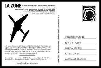 LA ZONE (Affiche)