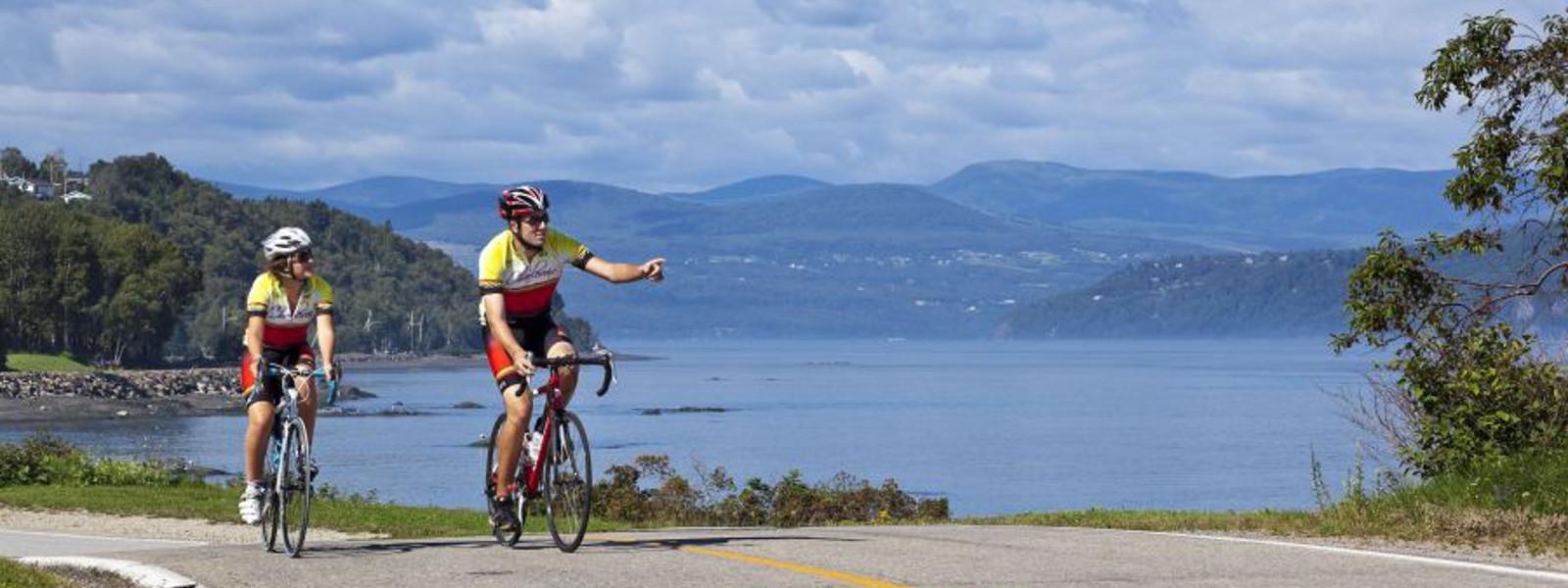Tour de l'Isle en vélo