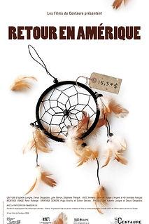 Affiche du film RETOUR EN AMÉRIQUE de STÉPHANE THIBAULT, DENYS DESJARDINS, ISABELLE LAVIGNE et JULIE PERRON..