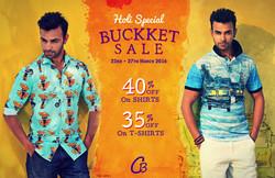 Buckket sale