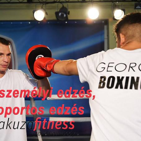 BOX edzés nem csak boxolóknak