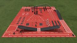 Focista edzőpark