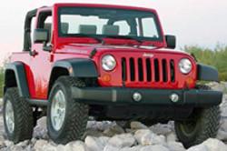Certain Jeep Wranglers