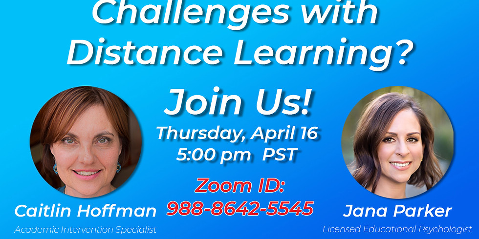 Challenges With Distance Learning