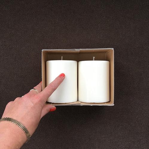 2 x GNIST bloklys i gaveæske, Large