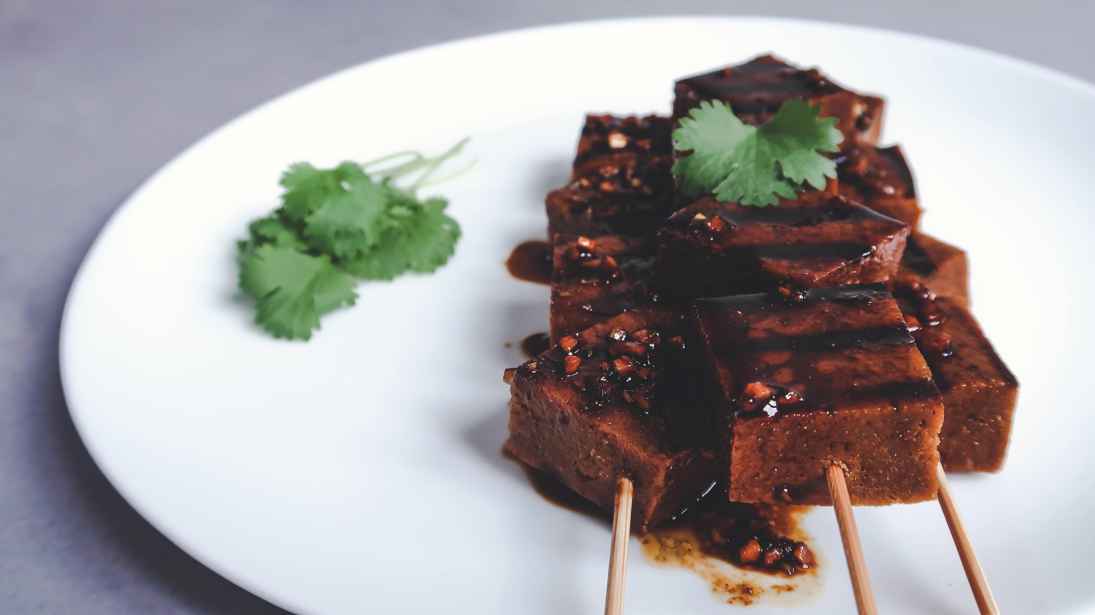 Seitan BBQ skewers