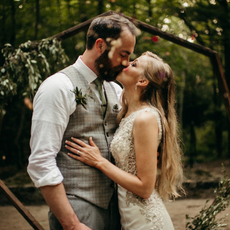 Campground Wedding Complete With a Trip to the Fair