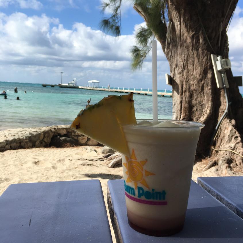 Rum ... at Rum Point
