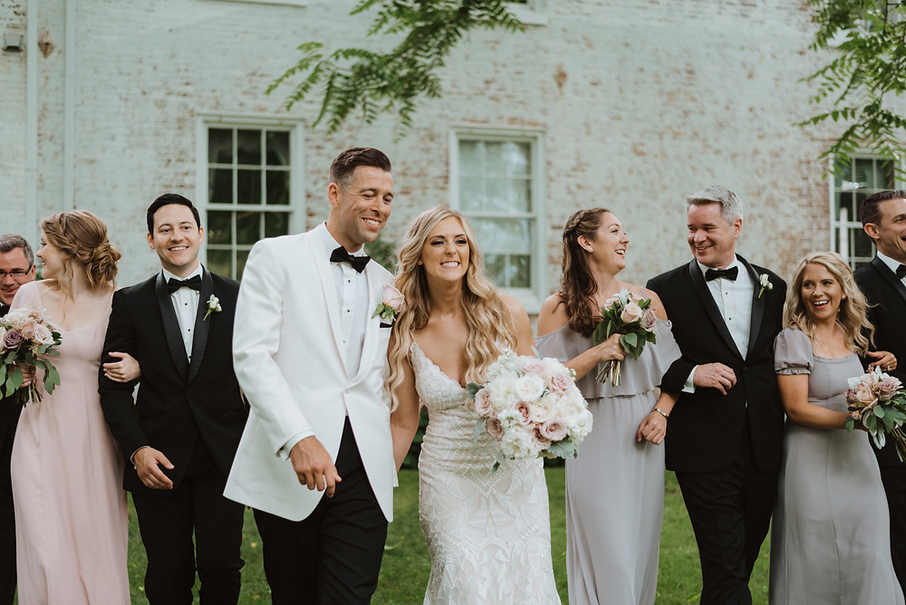 Wedding Bridal Party, Evergreen Photography