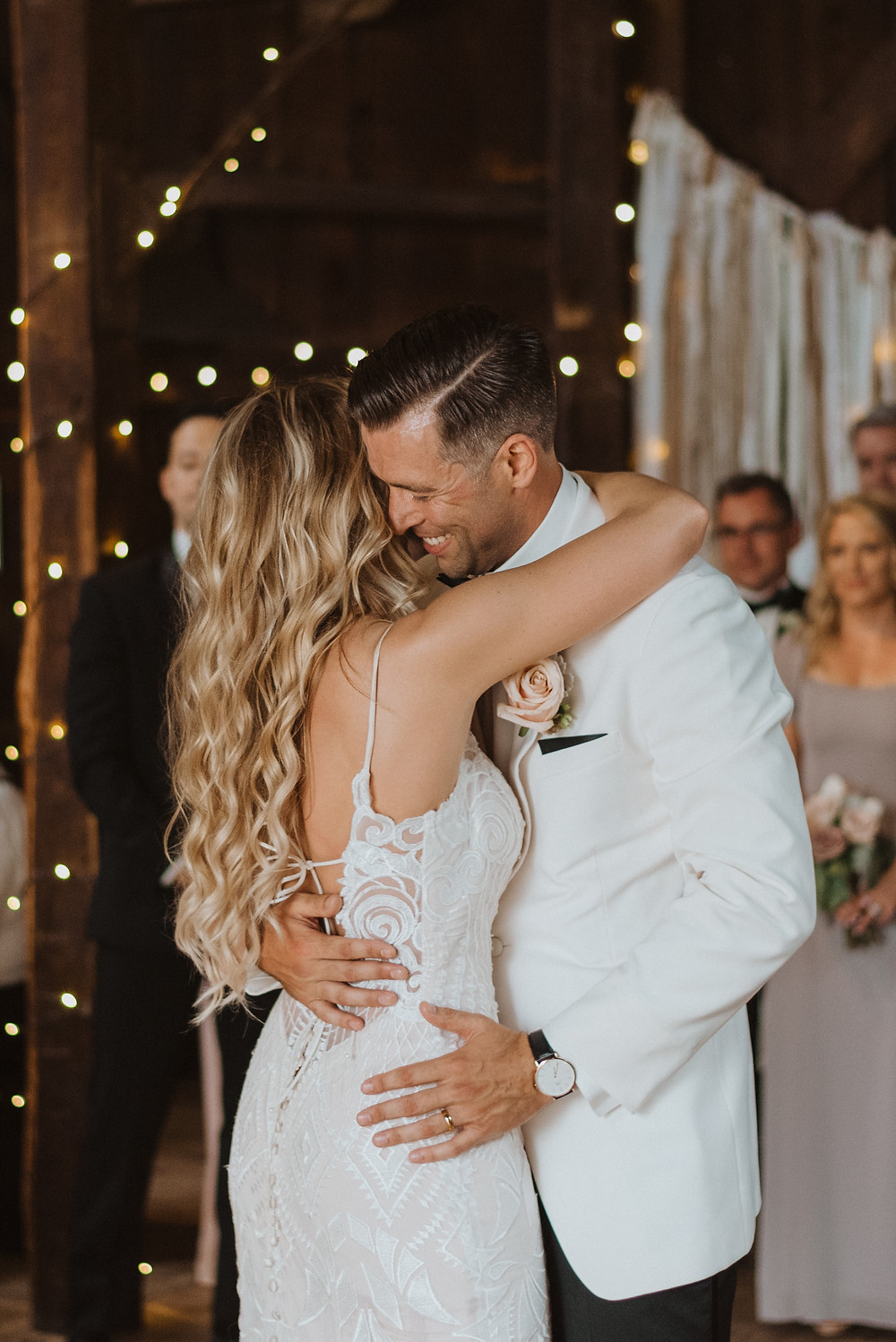 Bride and Groom First Dance, Evergreen Photography
