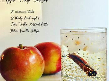 Apple Crisp Vodka Seltzer