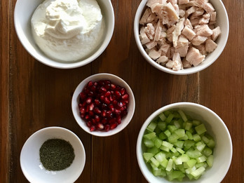 Pomegranate Turkey Salad