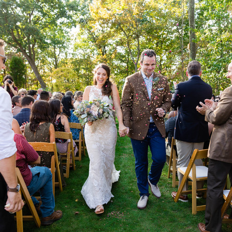 A Beautiful Backyard Wedding with Boho Touches