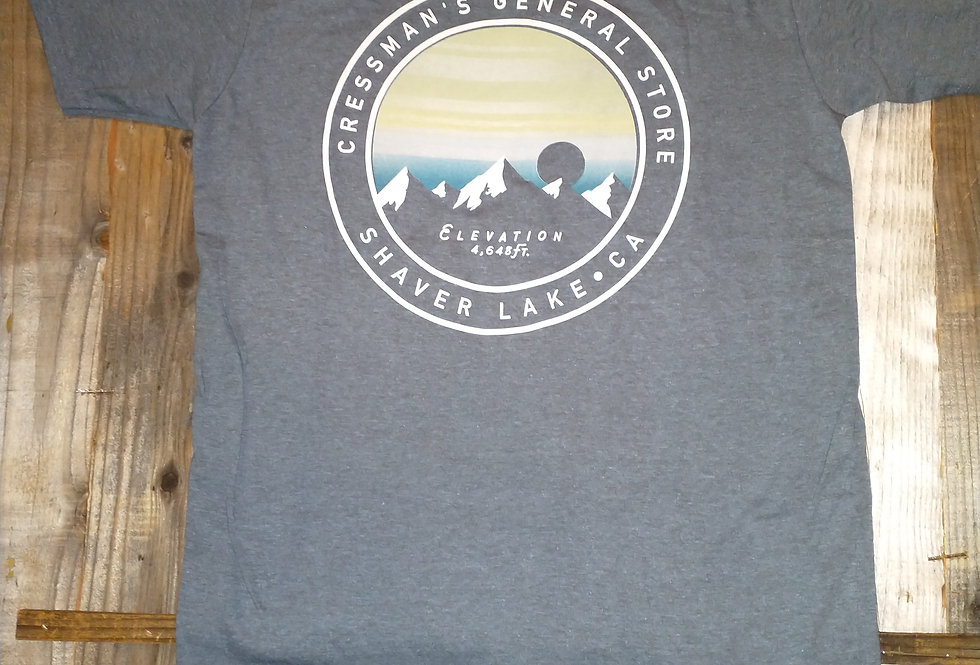 Cressman's Elevation T-Shirt Heather Blue
