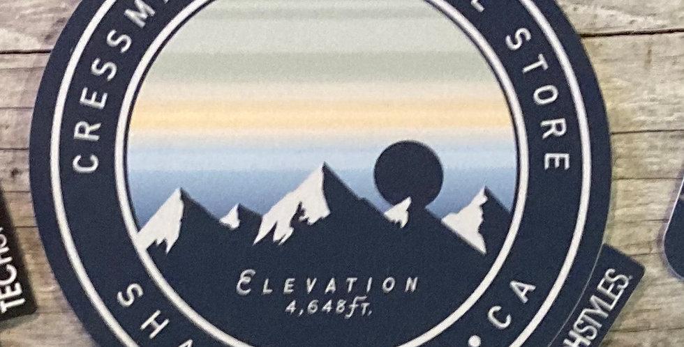 Cressman's Elevation Sticker