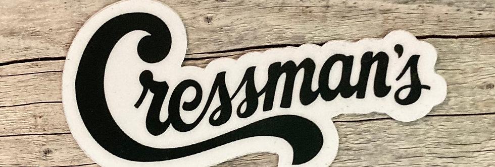 Cressman's Logo Sticker