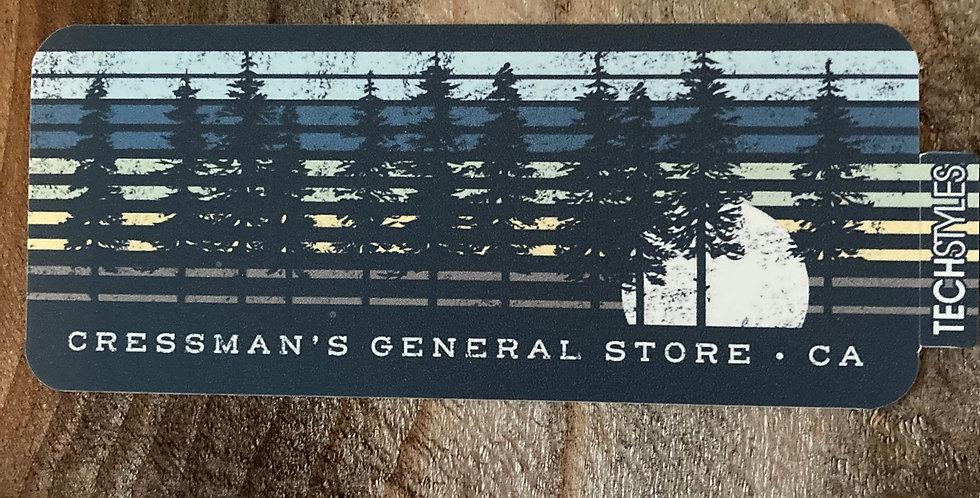 Cressman's Moon & Trees Stickers