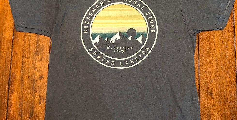 Cressman's Mountains T-Shirt Gray