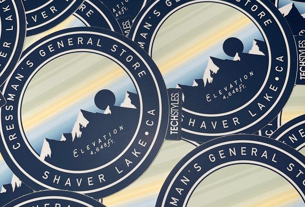 Elevation Sticker
