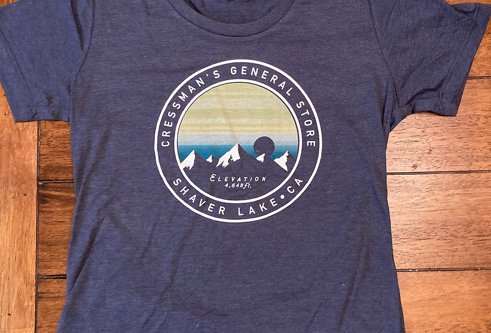 Cressman's Elevation Women's Tee Navy Blue